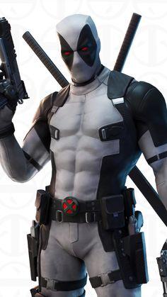Deadpool X-Force Fortnite 4K Ultra HD Mobile Wallpaper