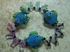 Such a cute fish bracelet by las81101 on Etsy