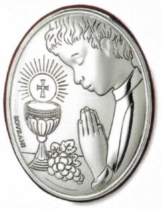 Première Communion, First Holy Communion, Diy Clothes And Shoes, Metal Embossing, Parchment Craft, Armor Of God, Candle Making, Metal Art, Home Crafts