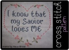 Cross Stitch Pattern by Alicia