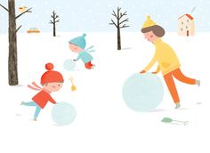 Mark The End (and the Beginning) of Your Year with Ekaterina Trukhan's Cute Illustrations