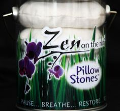 Pillow Stones - a soft place to land and a strong place to launch. Pillow Stones can be your beginning of a transforming and refreshing experience.