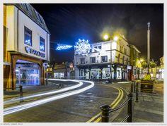 Railway Street by Night by Nigel Lomas on 500px