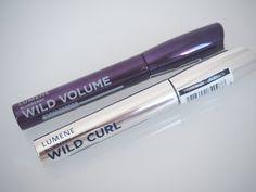 OSTOLAKOSSA: Wild Curl, Wild Volume... Kokeilkaa joskus villiä korttia! Esittelyssä Lumenen ripsivärit. Curls, Beauty, Beauty Illustration