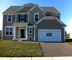 New Kendall County home at Prescott Mill in Oswego.