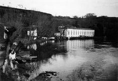O río Miño e o balneario de Lugo. Arquivo Ebeling nº 352.