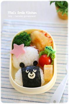 初めてでも簡単!3Dキャラ弁の作り方をご紹介♪幼稚園や遠足のお弁当にもぴったり♪レシピブログで人気のMai*Maiさんの連載です。 Bento Box, Lunch Box, Cute Food, Yummy Food, Picnic Lunches, Bento Recipes, Food Decoration, Creative Food, Japanese Food