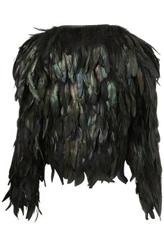 Chicken feather jacket (!!)