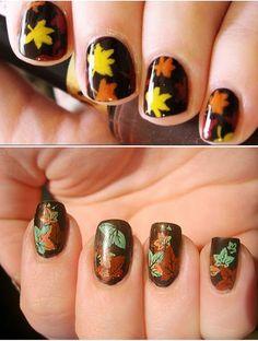 Simple Nail Art Design,