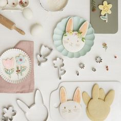 Nov 13, 2020 - Create brilliant bunny cookies with our fabulous stainless steel cutter. The set also comes with icing cutters to make fantastic floral shapes, to decorate the bunny cookies with. Perfect as Easter treats, or for any springtime party.