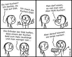 Beste Diät | Kuchen-Comic | is lieb?