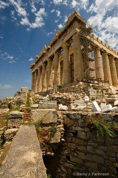 The Parthenon - Athens Greece