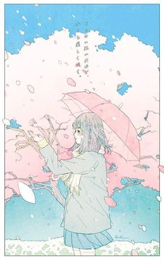 e-shuushuu kawaii and moe anime image board Arte Do Kawaii, Kawaii Art, Art And Illustration, Pretty Art, Cute Art, Aesthetic Art, Aesthetic Anime, Kawaii Wallpaper, Anime Scenery