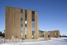 Sami Cultural Center Sajos in Inari, Finland – Halo Architects | Arketipo