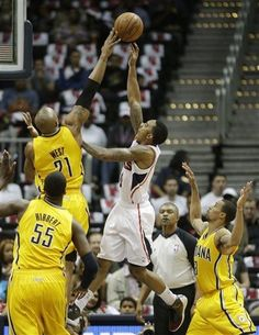 Eastern Conference Quarterfinals: Game 6 | (3) Indiana #Pacers over (6) Atlanta #Hawks 81-73. Indiana wins series 4-2.