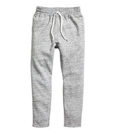 Sweatpants | Grijs gemêleerd | Dames | H&M NL