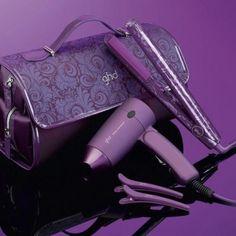 ghd rettetang lilla gave sett,rettetang ghd purple - ghd nettbutikk Purple Love, All Things Purple, Shades Of Purple, Purple Hair, Girly Things, Purple Stuff, Magenta, Violet Hair, Bright Purple