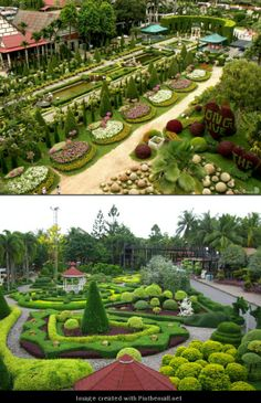 Great Suan Nong Nooch U2013 Thailand   Famous Gardens Of The World   I Want These To  Be My Backyard.