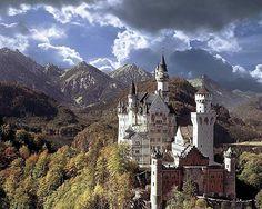 Schloss Schwanstein - jetzt bestellen auf kunst-fuer-alle.de