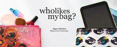 Who likes my bag?  Colecção de malas Bibiana Grave Ilustração, disponível já esta semana!  Who likes my Bag? Bags Collection Bibiana Grave Ilustração, available soon!
