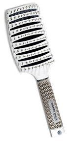 Keratin Complex Curved Vent Brush by Coppola Black by Keratin Complex. $27.99. Thermal fast drying vent. Curved design. Light Weight Design. Paddle hair brush. Cushion Rubber Handle. Keratin Complex Curved Vent Brush by Coppola - WHITE  Keratin Complex Curved Vent Brush was developed especially for Keratin Complex Smoothing Therapy. The innovative curved design allows more heat to flow to the hair shaft, reducing drying time. The Keratin Complex Vent Brush provides for ...