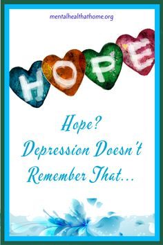 Maintaining hope in the face of chronic depression can be challenging. Managing the Depression Puzzle addresses this and other depression-related things to wrap your head around, including figuring out your identity and makig decisions around disclosure. #depressionbooks #majordepression #hopelessness #depressionsymptoms #mentalhealth #mentalillness Depression Symptoms, What Is Hope, Living With Depression, Mental Illness, Disorders, Make It Simple, Mental Health, Identity