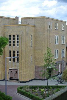 Art Deco in Rotterdam, Justus van Effenstraat, PAV