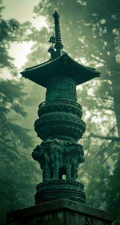 Kōya-san, Oku-no-in (Memorial Pagoda)