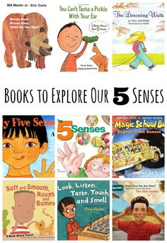 -*+We've been exploring our 5 senses over the last several weeks… taste, smell, hearing, touch, and sight. We even celebrated with a popcorn party using all our senses! Now we're sharing a few books that can help reinforce all the... Continue Reading →