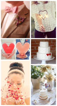 Happy Valentines: Wedding Heart Ideas