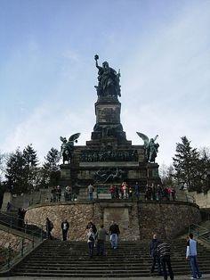 W. Germany's Statue of Liberty...Rudesheim am Rhein...