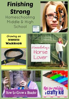 Finishing Strong ~ Homeschooling the Middle & High School Years #44