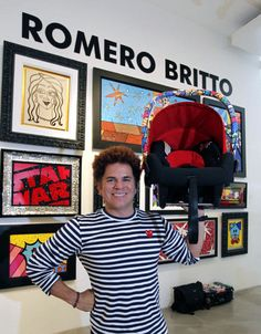 Britto draws mass appeal as businessman and celebrity artist - Business Monday - MiamiHerald.com