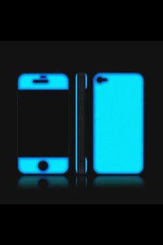 Glow-in-the-Dark Gel Case for iPhone. Would be helpful to find your phone in your dark purse!