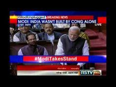 Prime Minister Narendra Modi Speaks in Rajya Sabha
