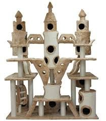 My kitties would love me forever if I got this for them! Extra Large Huge Cat Tree, Large Cat Condo, Large Cat Furniture and like OMG! get some yourself some pawtastic adorable cat shirts, cat socks, and other cat apparel by tapping the pin! Diy Pour Chien, Cat Castle, Tower Castle, Large Cat Tree, Huge Cat, Cat Towers, Fancy Cats, Cat Room, Cat Condo
