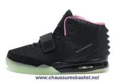 newest c5d47 74c98 Pas Cher Femmes Chaussures Noir Rose Nike Air Yeezy II Nba, Cheap Mens Shoes ,