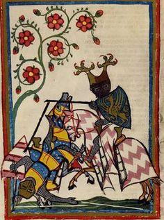 Cod. Pal. germ. 848 - Codex Manesse, f. 61v