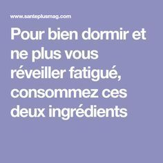 Migraine, Plus Jamais, Detox, Psychology, Meditation, Cancer, Food And Drink, Beignets, Stuff Stuff