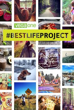 Show us what your best life looks like. Instagram your daily wins (big AND small) with #BestLifeProject. Use this space to gather inspiration from fellow life-explorers and jump in! Fresh ideas for leaning into life (better) served weekly.