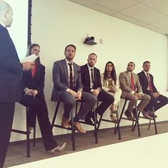Panel of some incredible #entrepreneurs including our own CEO! #proud #thecarvonisgroup #entrepreneurlife