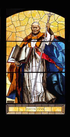 Vetrate – Noto : Francesco Mori Arte | Dipingere la Luce Catholic Art, Catholic Saints, Roman Catholic, Religious Art, Papa Juan Pablo Ii, Stained Glass Church, Religion, Three Wise Men, Pope John Paul Ii