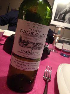 Château Roc de Cazade (vin blanc) 9/10