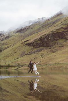 Photography Inspiration: Atmospheric Lake District Wedding: Helen Andy