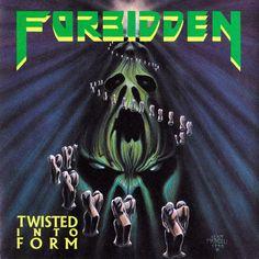 Caratula Frontal de Forbidden - Twisted Into Form