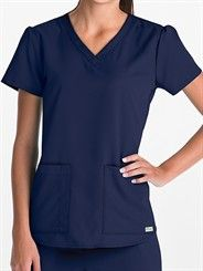 Grey's Anatomy Scrubs V-Neck Top