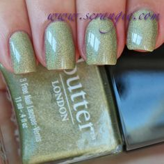 Scrangie: Butter London Trustafarian Nail Lacquer Fall 2012 Swatches and Review