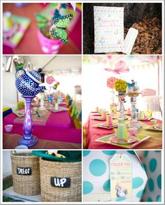 Alice in Wonderland birthday party centerpieces by Andi Diamond Photography Baby First Birthday, First Birthday Parties, First Birthdays, Birthday Ideas, Alice In Wonderland Decorations, Alice In Wonderland Birthday, Alice Tea Party, Mad Hatter Party, Birthday Party Centerpieces
