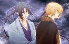 Hakuouki Shinsengumi Kitan, Chikage Kazama, Hijikata Toshizou (Hakuouki), Looking Back, Stars (Sky)