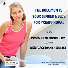 Hoping to buy a home? Gather these documents prior to talking to your Lender and hit the floor running. Your PreApproval and mortgage application will go faster and much more smoothly.